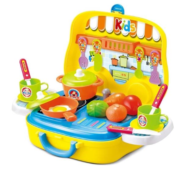 Hộp bếp nấu ăn - Đồ chơi cho bé gái 3 tuổi