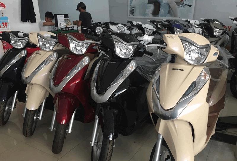 Các hình thức mua trả góp Honda Lead